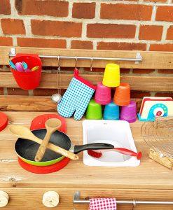 Matschküche Kinderküche LTKO aus Paletten Möbel Holz (9)