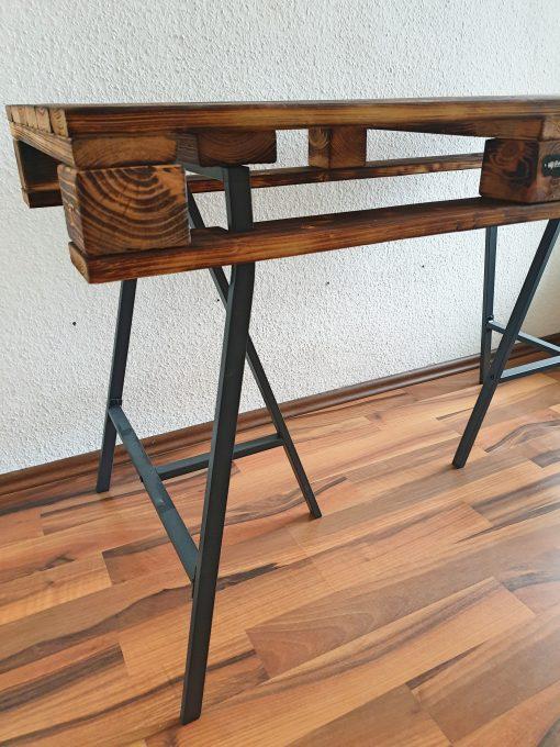 Paletten Schreibtisch Industrial Style (5)